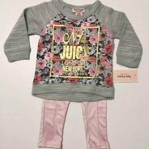 Brand-new genuine juicy couture girl size 12 month